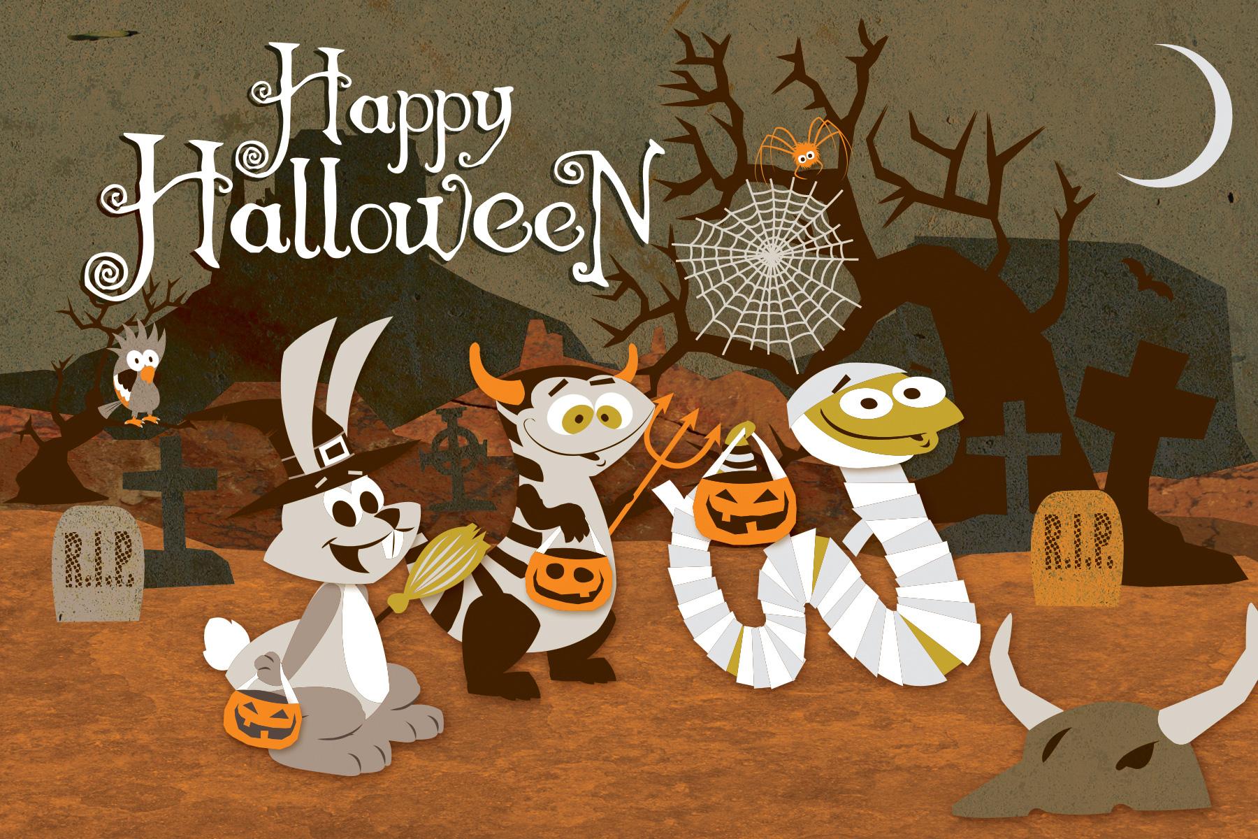 Desert Gang Halloween in the Desert Grave