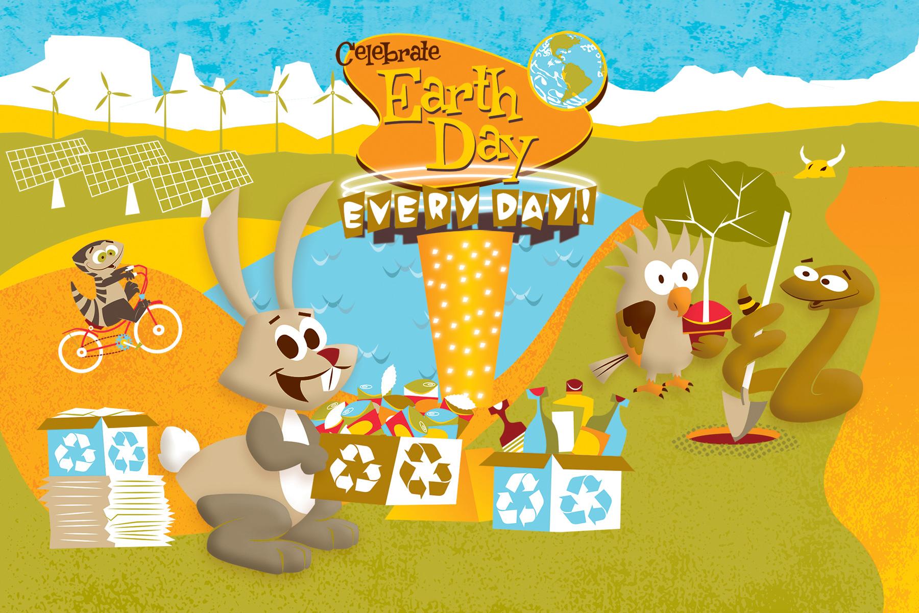 Desert Gang Earth Day