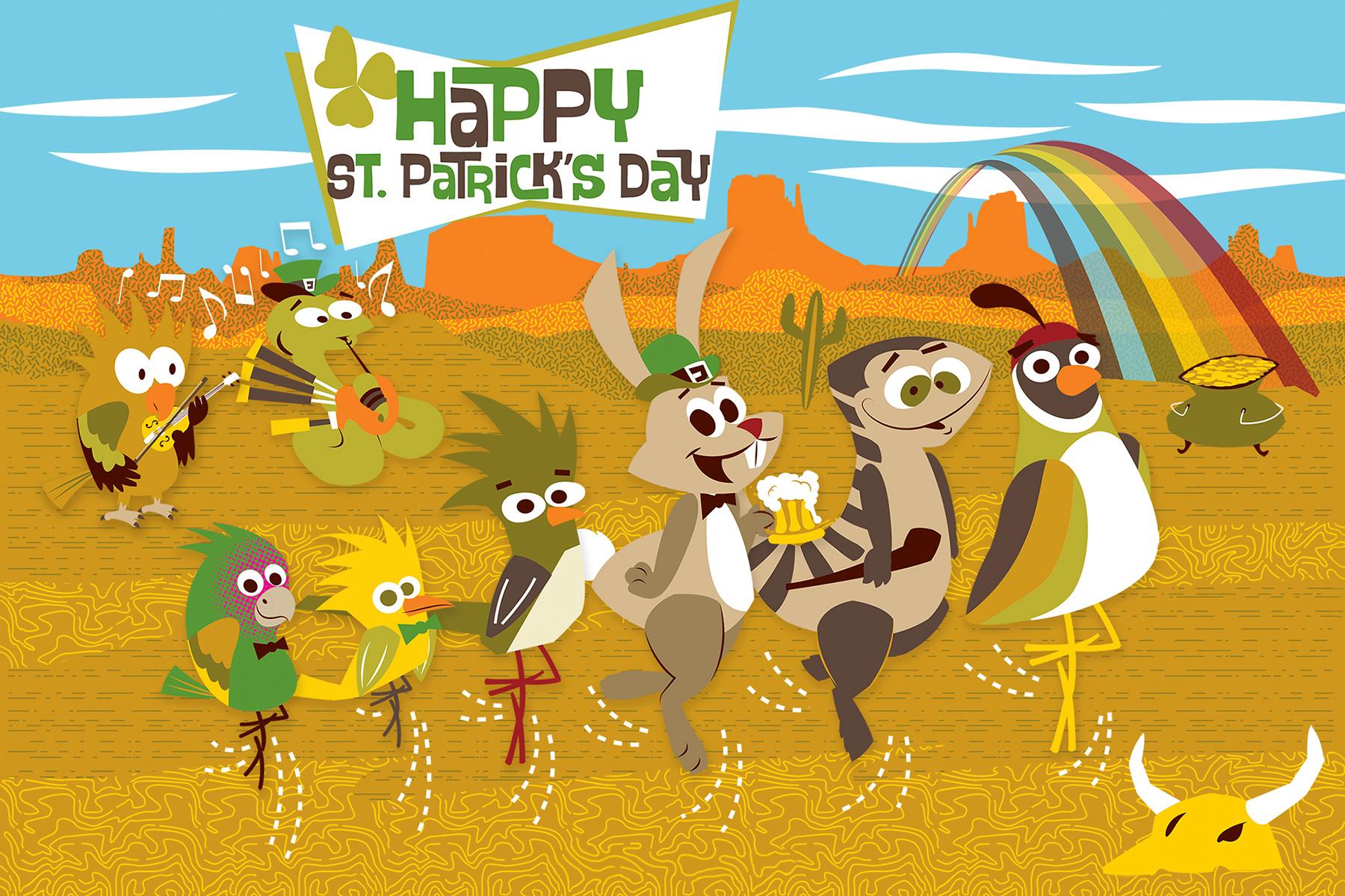Desert Gang St Patrick Day