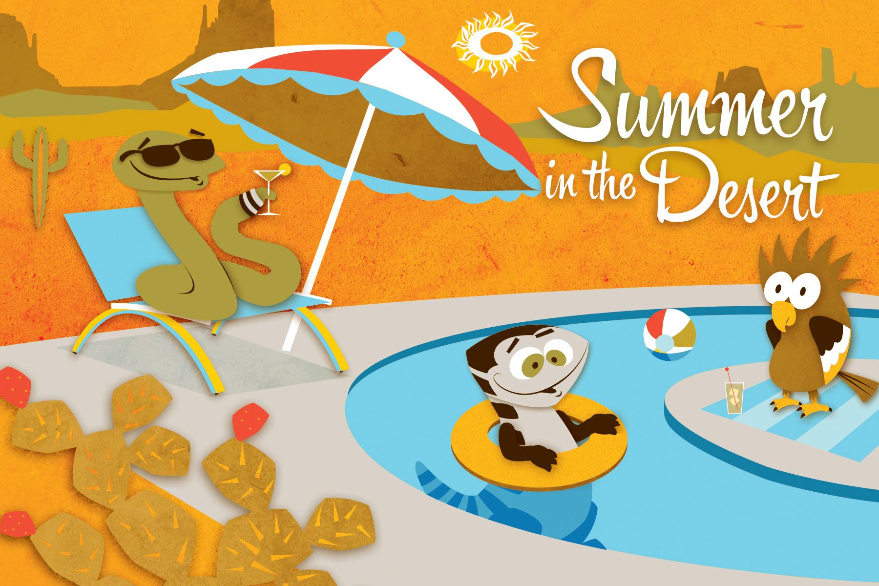 Desert Gang Summer in the desert