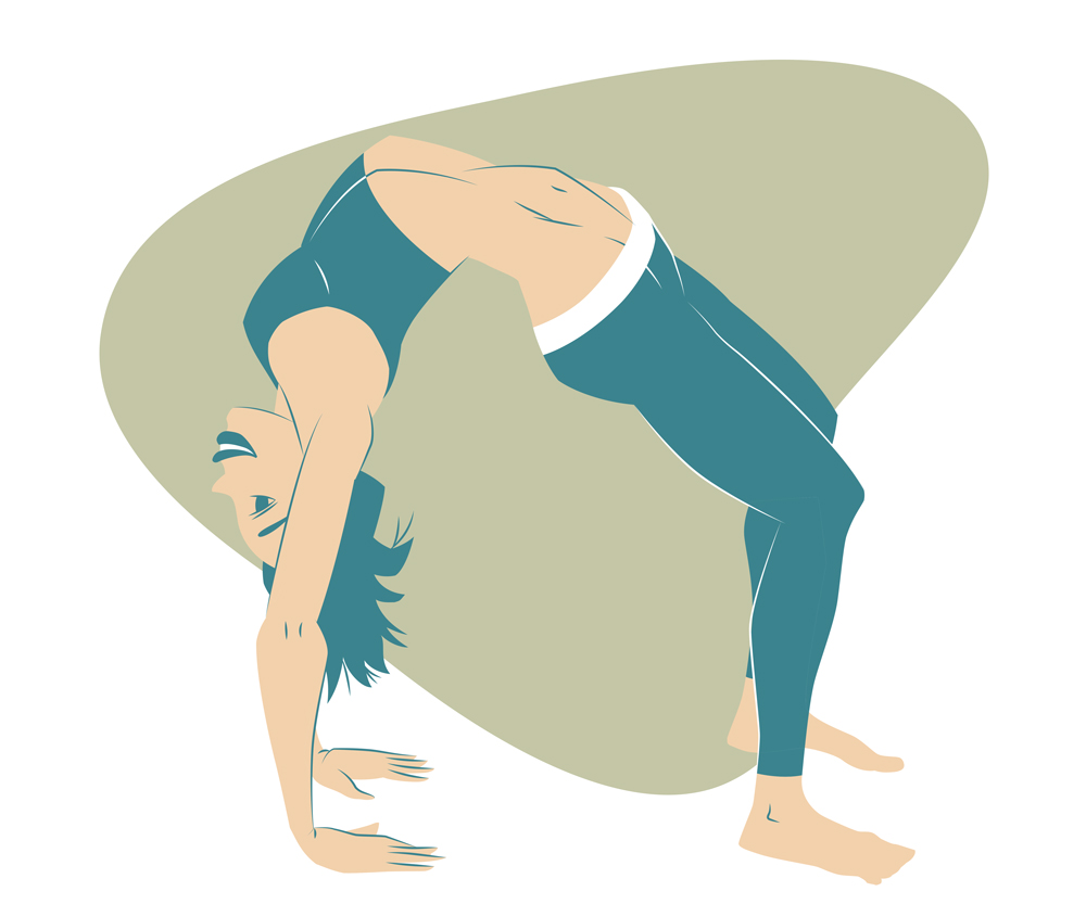 Urdva Dhanurasana, Upward-Facing Bow Pose