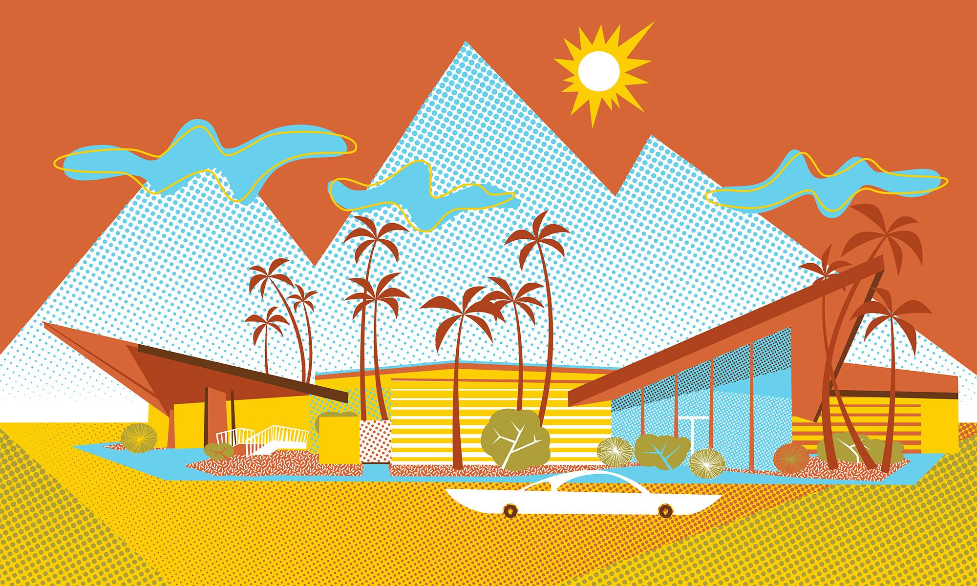 300 Bowl Googie-style building in Phoenix, AZ